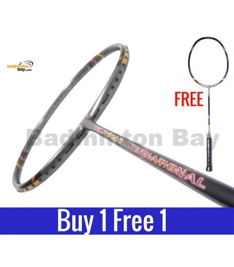 Apacs Tweet 8000 International Badminton Racket Free String And Grip buy 1 free 1 apacs tweet 8000 international grey