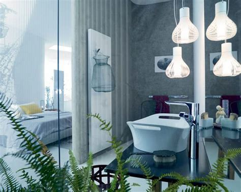 stylish pendant lights bathroom lighting ideas for small