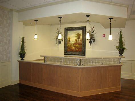 Beautiful Modern Wood Reception Desk Contemporary   Liltigertoo.com   liltigertoo.com