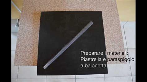 paraspigoli piastrelle come montare i paraspigoli lineari per piastrelle