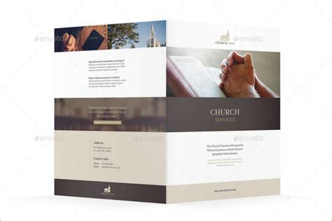 30 Sle Church Brochure Templates Free Psd Pdf Design Ideas Church Brochure Template Publisher