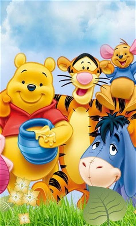 themes android winnie the pooh download winnie the pooh wallpaper for android by