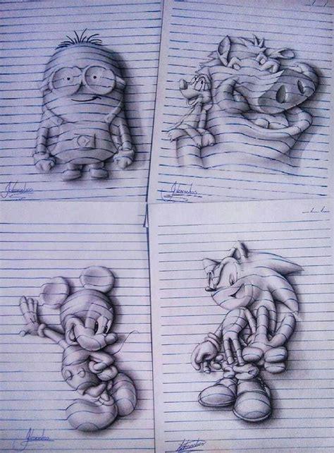 doodle yang mudah digambar gambar bunga yang mudah di gambar contoh gambar 3 dimensi