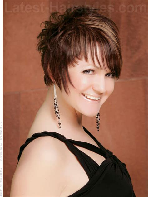short hair spiked in back with bangs 35 fool proof hairstyles for straight hair