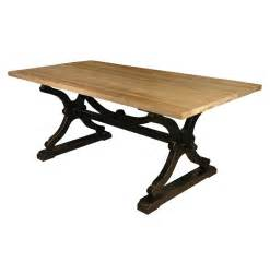 Rustic Farm Dining Table Quiznol Pine Black Base Rustic Farmhouse Dining Table Kathy Kuo Home
