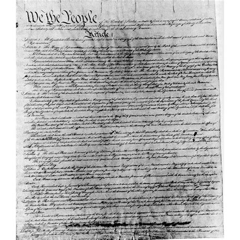 Us Constitution Article 1 Section 2 by Summary Of The United States Constitution Article 1of The Constitution