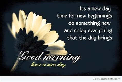 Its A New Day And A New Lookwel 2 by Morning It S A New Day Desicomments