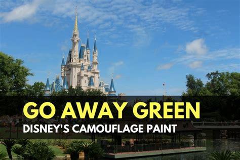 go away green go away green disney s camouflage paint trueprepper