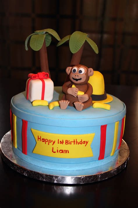 Curious George Cake Decorations by Curious George Cakes Decoration Ideas Birthday