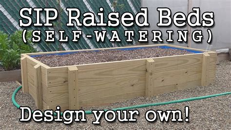 self watering raised bed how to build a self watering sub irrigated raised garden
