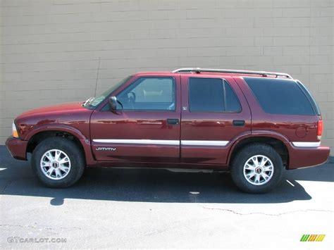 2000 monterey maroon metallic gmc jimmy sle 4x4 6909553 gtcarlot car color galleries