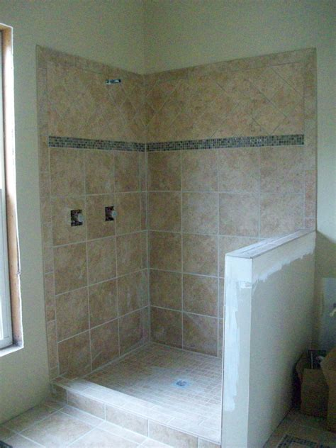 Ceramic Tiling A Shower by Tiled Shower Stalls Create Distinctive And Stylish Shower