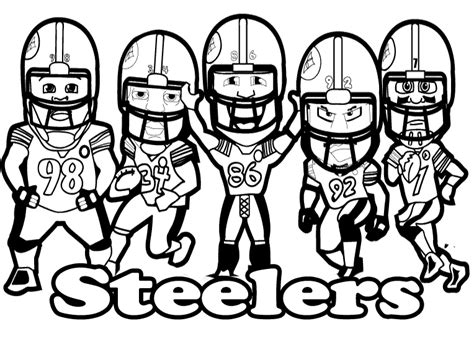 pics photos pittsburgh steelers coloring pages online pittsburgh steelers printable coloring pages murderthestout