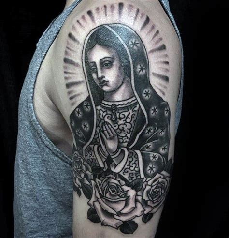 our lady of guadalupe tattoo 50 guadalupe designs for blessed