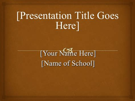 Apa Template Powerpoint Formatting A Powerpoint Presentation
