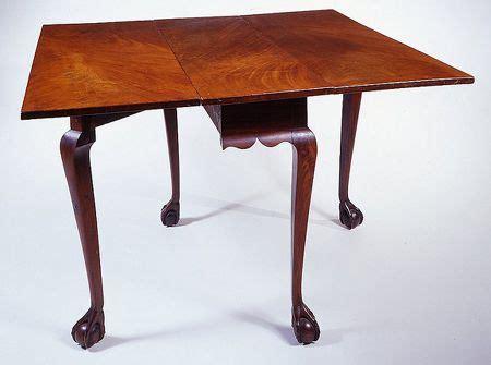 chippendale drop leaf table newport rhode island circa