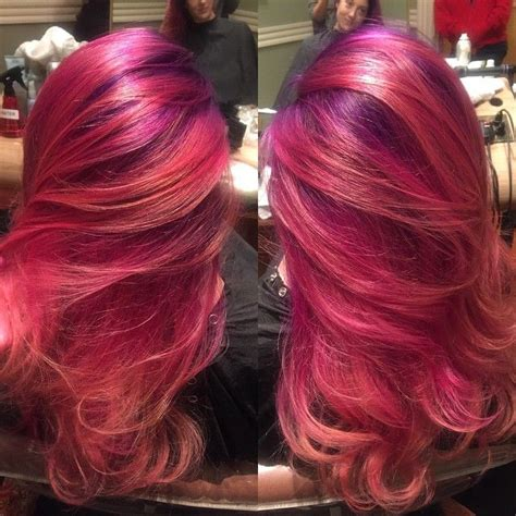 sunset hair color sunset hair color beautiful pacific sunset hair color