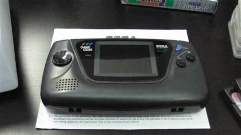 sega game gear led mod meine sega game gear spiele sammlung youtube