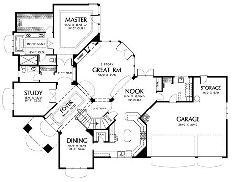 corner lot floor plans craftsman house plans for corner lots house design ideas