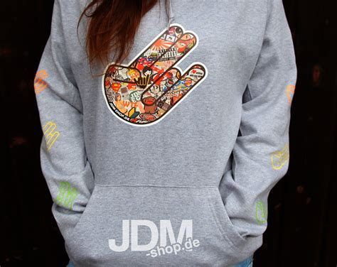 Stickerbomb Xxl by Jdm Shop Car Parts And Accessories Shocker Hoodie