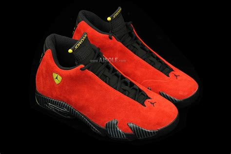Jordan 14 Ferrari by Closer Look At The Air Jordan 14 Quot Ferrari Quot Sbd