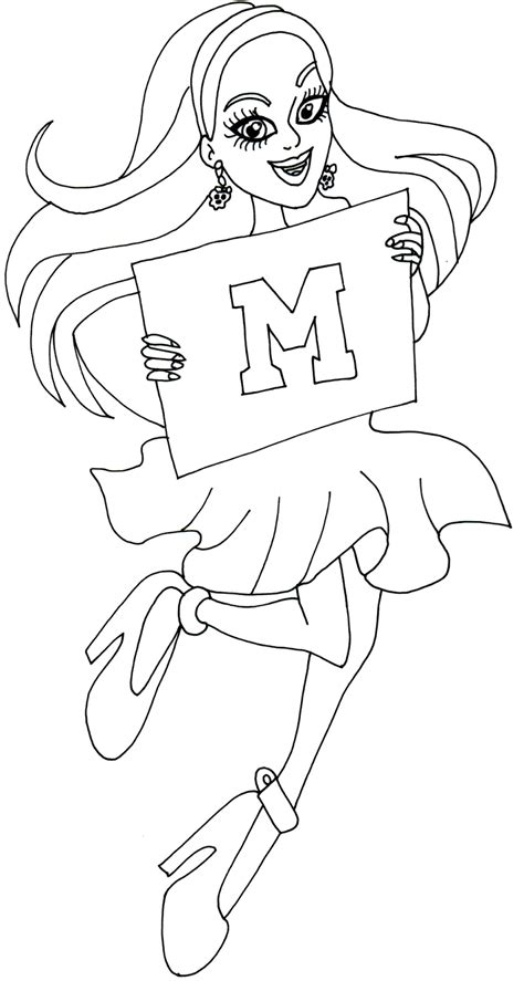 monster high ghouls coloring pages free printable monster high coloring pages spectra ghoul