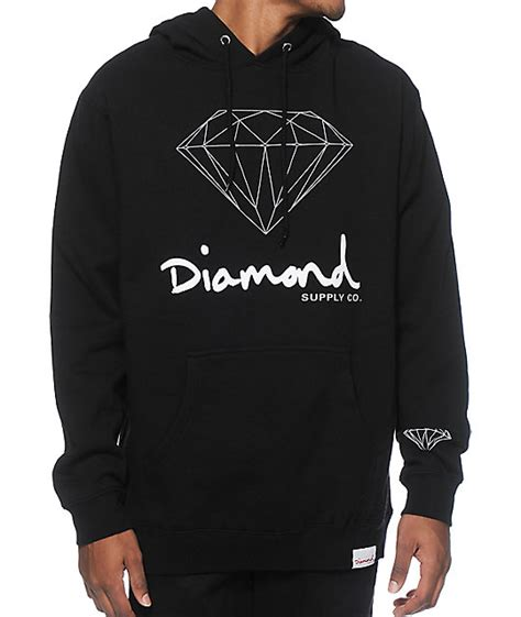 Hoodie One Diamend Clothing supply co og sign hoodie zumiez