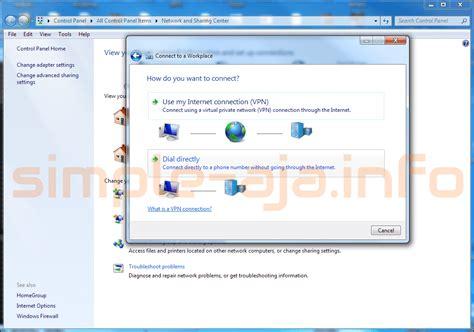 membuat koneksi vpn windows 7 cara membuat vpn pptp pada windows 7 catatan si boim
