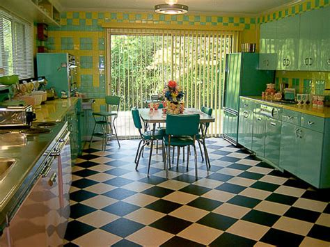 lori s pink blue and yellow retro kitchen a whole lot of