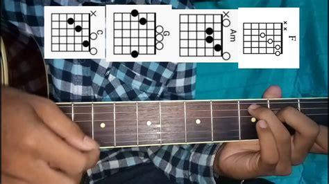 Tutorial Gitar Merindukanmu | kunci gitar merindukanmu youtube