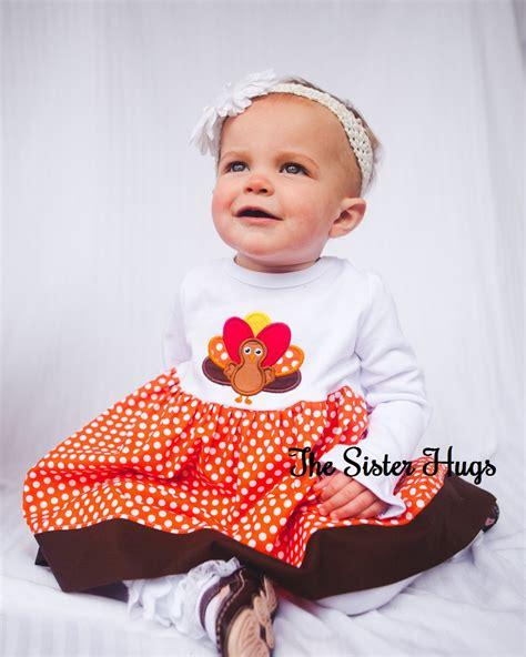 thanksgiving baby dress baby toddler thanksgiving turkey thanksgiving dress