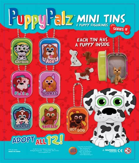 puppy series puppy palz series 5 50mm best selling line capsules toyvend supplier of