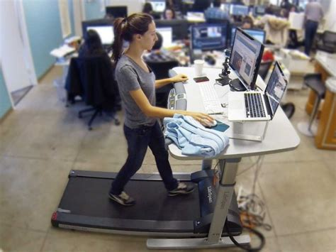 treadmill armoire treadmill desks helps productivity at work says study 183 guardian liberty voice
