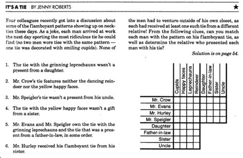 printable logic puzzles difficult prolog assignment 1