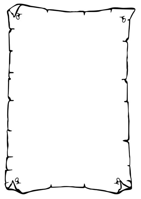 How To Make Paper Borders - clipart paper border