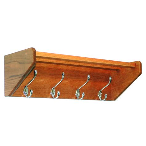 Wall Mount Coat Rack With Hooks by Wall Mount Coat Rack 4 Hook In Wall Coat Racks
