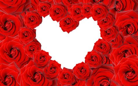 Red Roses & Love Heart Wallpapers   HD Wallpapers   ID #8639