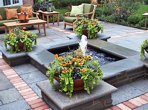 Cool Ponds Pools And Fountains For The Backyard Diy Water Features For Patios