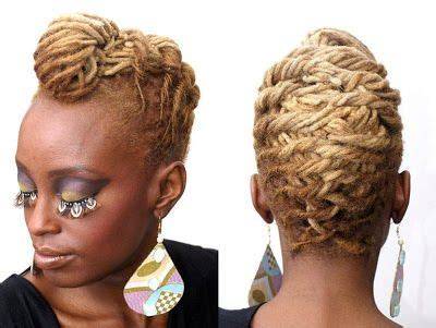 short loc styles gallery starter loc on short hair left i love this picture her