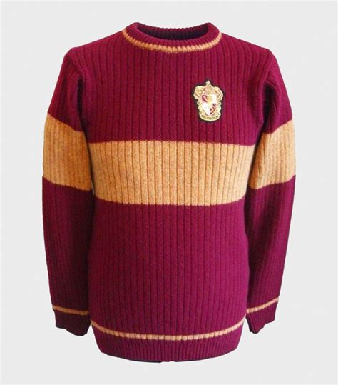 Sweater Anak Harry Potter Bungsu Clothing gryffindor quidditch sweater harry potter shop at platform 9 3 4