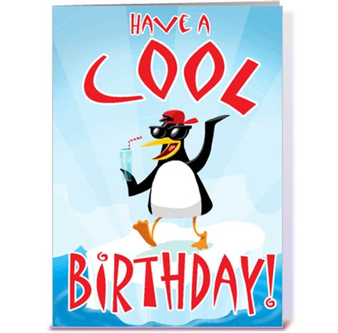 Cool Birthday Cards Have A Cool Birthday Greeting Card By Stiktoonz Greetings