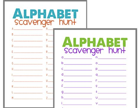 up letter scavenger hunt 10 ways to help your child beat those rainy day blues