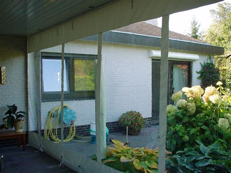 veranda zeildoek terrasoverkapping zeildoek zeilmakerij c witte b v