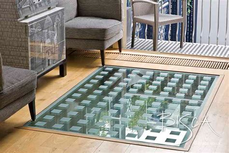 glass floor textured glass floor bisca staircases