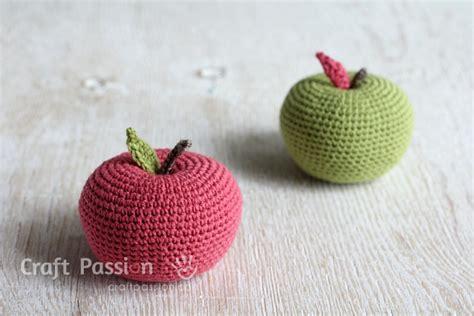 amigurumi apple pattern big apple amigurumi free pattern craft passion page