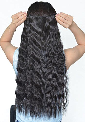 how to install clip in extensions on corn roll hair natural black 22 inches long corn wave curly wavy one
