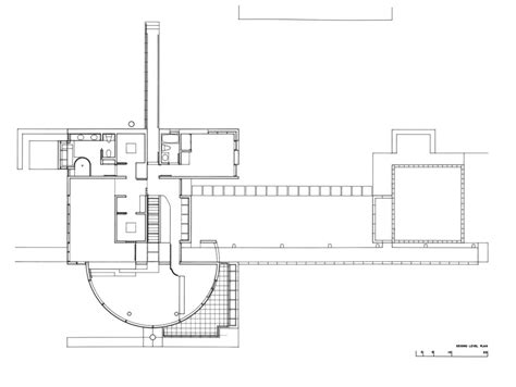 richard meier floor plans grotta house richard meier plans sections and elevation