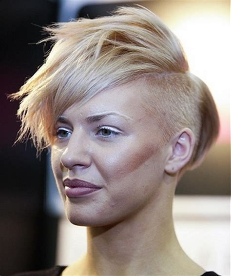 very short edgy haircuts for women with round faces edgy short haircuts