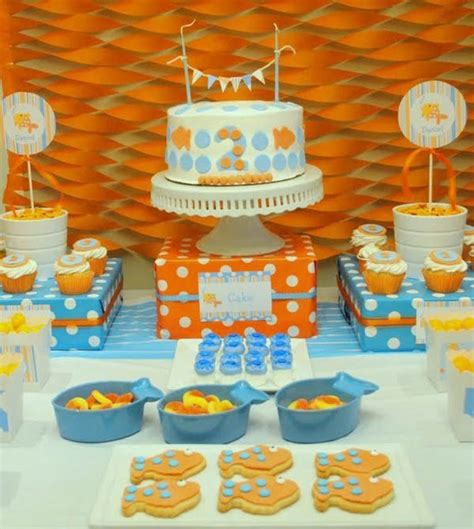Goldfish Themes | goldfish party ideas b lovely events