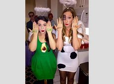 18 Totally Adorkable Halloween Costumes For Best Friends ... Funny Group Halloween Costumes Girls